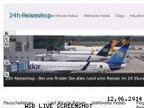 Ranking Webseite 24h-reiseshop.de