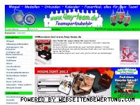 Ranking Webseite 4my-team.de