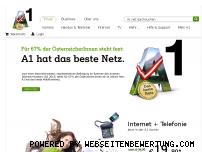 Ranking Webseite a1.net