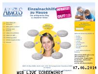 Ranking Webseite abacus-nachhilfe.de