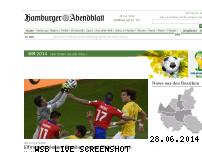 Informationen zur Webseite abendblatt.de