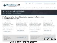 Informationen zur Webseite abholungschrott.de