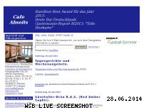 Ranking Webseite abseits-bamberg.de