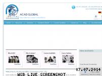 Ranking Webseite acadglobal.com