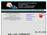 Ranking Webseite achatfinanz.de