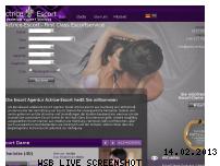 Ranking Webseite actrice-escort.de