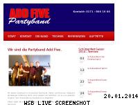 Ranking Webseite add-five.de