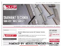 Ranking Webseite adt-diamanttechnik.de