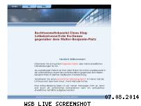 Informationen zur Webseite advokat-klug.de