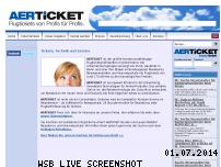 Informationen zur Webseite aerticket.de