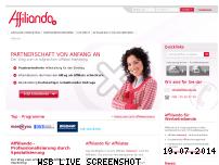 Ranking Webseite affiliando.de