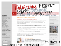 Informationen zur Webseite agd.de