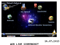 Ranking Webseite airbrush-galaxie.de