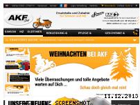 Ranking Webseite akf-shop.de