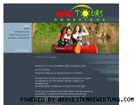 Ranking Webseite aktivtours.de