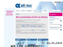 Ranking Webseite alfatex-klettverschluss.de