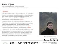Ranking Webseite aljets.de
