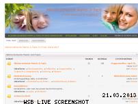 Ranking Webseite alleinerziehende-mamis-und-papis.de