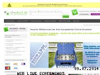 Informationen zur Webseite allesdruck.de