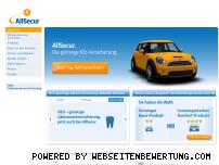 Ranking Webseite allsecur.de