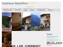 Ranking Webseite alpenflora.bz.it