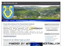 Ranking Webseite alte-kiehvotz.de