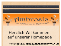 Ranking Webseite ambrosia-merklingen.de