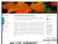 Ranking Webseite andreaswieser.info