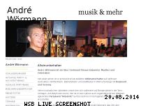 Informationen zur Webseite andrewoermann.de