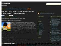 Ranking Webseite annexin.de