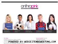 Ranking Webseite anthrapink.de