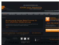 Ranking Webseite anwalt-gegen-abmahnung.de