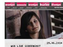 Ranking Webseite anzeiger-suedwest.de