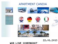 Ranking Webseite apartmentcandia.funpic.de