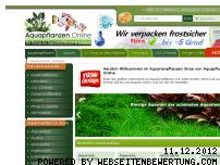Ranking Webseite aquapflanzen-online.de