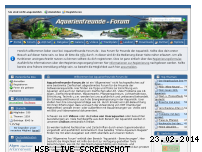 Informationen zur Webseite aquarienfreunde-forum.de