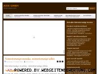 Ranking Webseite arbeit.hu