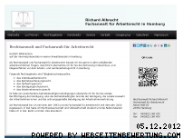 Ranking Webseite arbeitsrechtsanwalt-hamburg.com