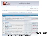 Ranking Webseite arche-internetz.net