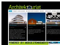 Ranking Webseite architektourist.de