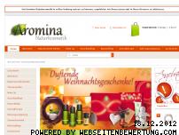 Informationen zur Webseite aromina.com