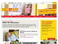 Ranking Webseite asb.de