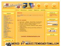 Ranking Webseite asiashop4u.com