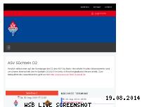 Ranking Webseite asv-suechteln-2003er.de