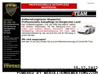 Informationen zur Webseite aufbereitungsteam.de