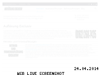 Ranking Webseite aufloesung-exclusiv.de