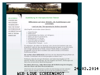 Ranking Webseite ausbildung-therapeutisches-reiten.de