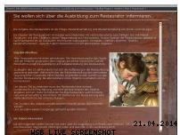 Informationen zur Webseite ausbildung-zum-restaurator.de