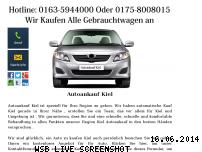 Informationen zur Webseite autoankauf-in-kiel.jimdo.com