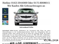 Informationen zur Webseite autoankauf-in-koeln.jimdo.com